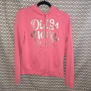 Pink Zip up Old Navy jacket